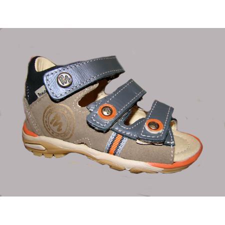 Sandałki skórzane, chłopięce model 1116 marki Mrugała - zdjęcie nr 1 - Bangla