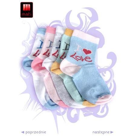 Skarpetki dziecięce marki Mati - zdjęcie nr 1 - Bangla