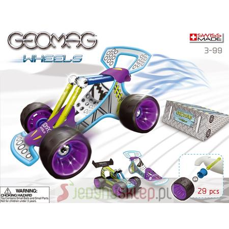 Wheels Auta, różne zestawy marki GeoMag - zdjęcie nr 1 - Bangla