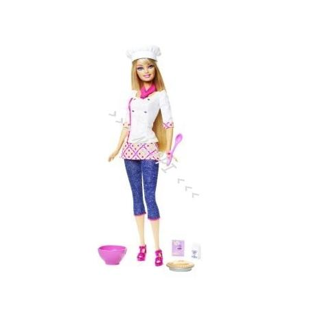 Barbie szef kuchni T7172 marki Mattel - zdjęcie nr 1 - Bangla