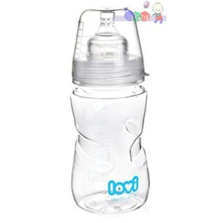 Medical +, Innowacyjna butelka do karmienia niemowląt, 59/201 , 59/202 marki Lovi - zdjęcie nr 1 - Bangla