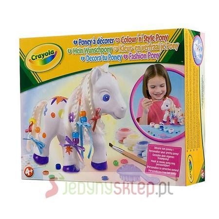 Crayola Fashion Pony, Zestaw Pony C051.93010 marki Russell - zdjęcie nr 1 - Bangla