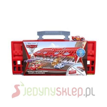 Cars 2 Wyrzutnia Z Walizką V2854 marki Mattel - zdjęcie nr 1 - Bangla