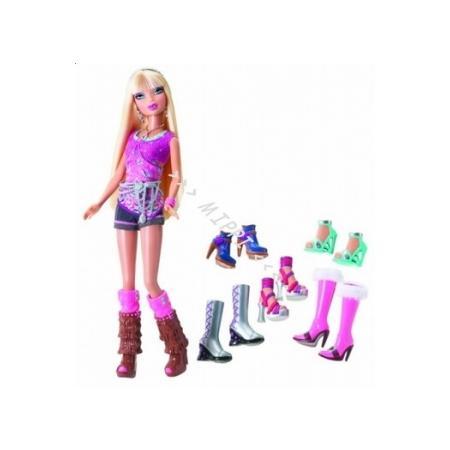 Barbie My Scene szał zakupów  Kennedy T3689 / Nia T3692 / Chelsea T3691 marki Mattel - zdjęcie nr 1 - Bangla