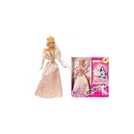 Barbie Księżniczka Z Dvd Księżniczka I Żebraczka T3492 marki Mattel - zdjęcie nr 1 - Bangla
