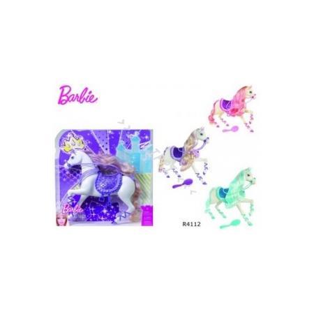Barbie Księżniczki Książęcy Konik R4112 marki Mattel - zdjęcie nr 1 - Bangla