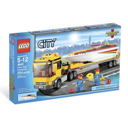 City, Ciężarówka z motorówką, 4643 marki Lego - zdjęcie nr 1 - Bangla