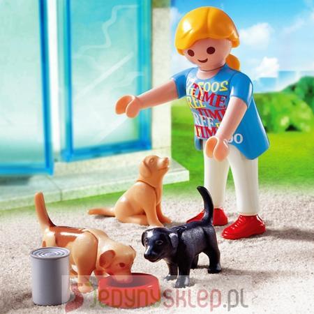Kobieta ze Szczeniakami, 4687 marki Playmobil - zdjęcie nr 1 - Bangla
