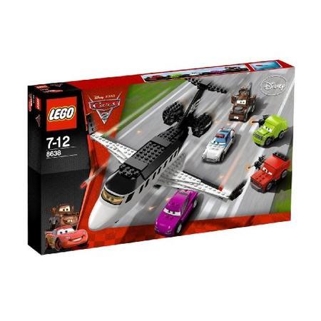 Cars, Ucieczka samolotem, 8638 marki Lego - zdjęcie nr 1 - Bangla