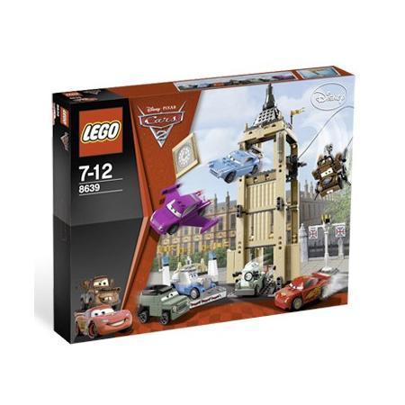 Cars, Ucieczka z wieży zegarowej, 8639 marki Lego - zdjęcie nr 1 - Bangla