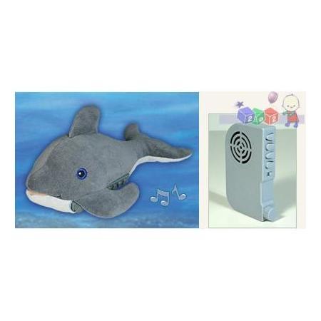 Pozytywka śpiący delfin/śpiąca żyrafka, CLDD-7372-ZZ/CLGG-7362-ZZ marki CLOUD B - zdjęcie nr 1 - Bangla
