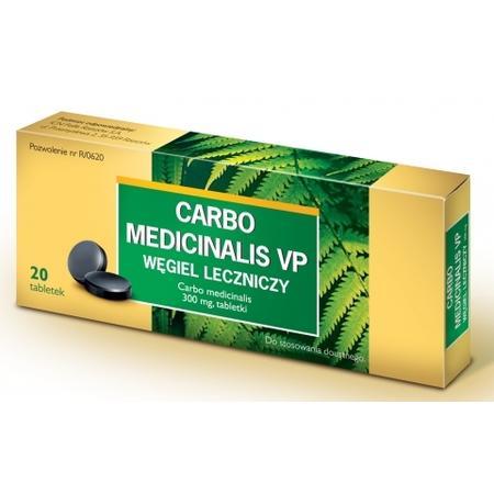Węgiel leczniczy, Carbo medicinalis 200 mg, tabletki marki ICN Polfa - zdjęcie nr 1 - Bangla