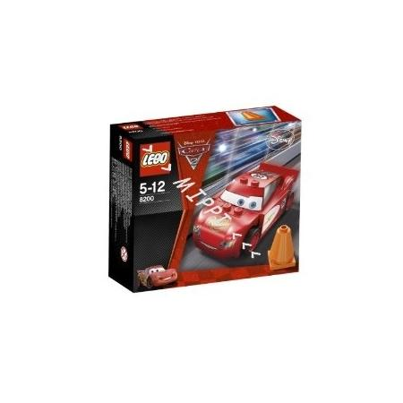 Cars, Zygzak McQueen w Chłodnicy Górskiej, 8200 marki Lego - zdjęcie nr 1 - Bangla