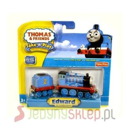 Thomas & Friends, Lokomotywa Edward, R9463 marki Fisher-Price - zdjęcie nr 1 - Bangla