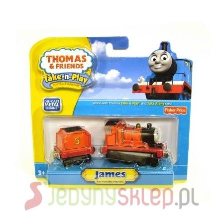 Thomas & Friends, Lokomotywa James, R8855 marki Fisher-Price - zdjęcie nr 1 - Bangla