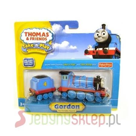 Thomas & Friends, Lokomotywa Gordon, R9036 marki Fisher-Price - zdjęcie nr 1 - Bangla