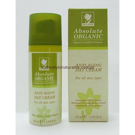 Anti Aging Day Cream, Organiczny przeciwzmarszczkowy krem na dzień marki Absolute Organic - zdjęcie nr 1 - Bangla
