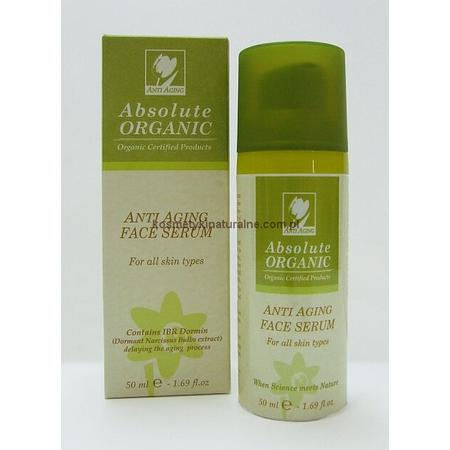 Anti Aging Face Serum, Organiczne serum przeciwzmarszczkowe do twarzy marki Absolute Organic - zdjęcie nr 1 - Bangla