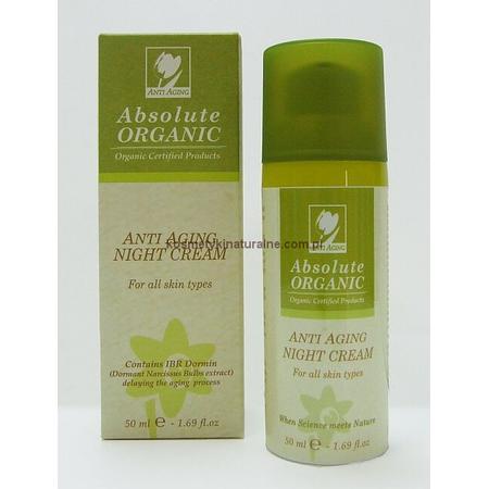 Anti Aging Night Cream, Organiczny przeciwzmarszczkowy krem na noc marki Absolute Organic - zdjęcie nr 1 - Bangla
