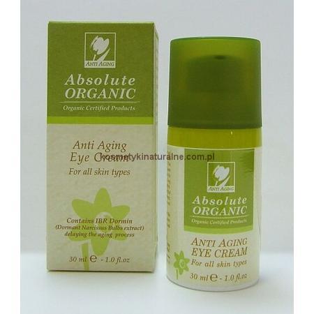 Anti Aging Eye Cream, Organiczny przeciwzmarszczkowy krem pod oczy marki Absolute Organic - zdjęcie nr 1 - Bangla
