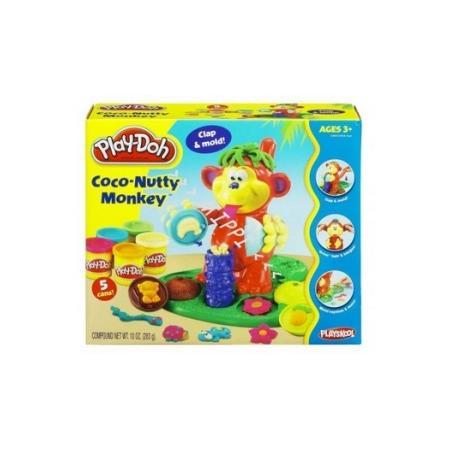 Coco-Nutty Monkey, Kokosowa małpka 23926 marki Play Doh - zdjęcie nr 1 - Bangla