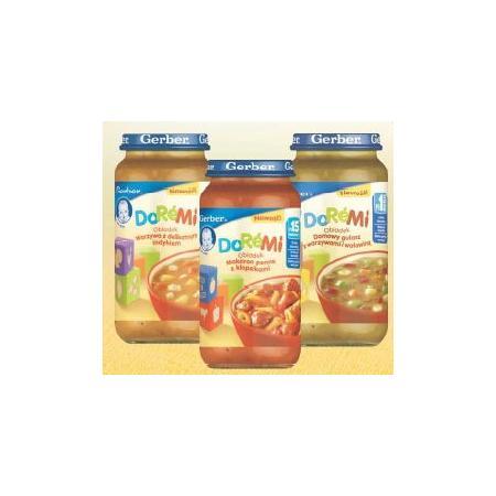 DoReMi, obiadek - różne smaki marki Gerber - zdjęcie nr 1 - Bangla