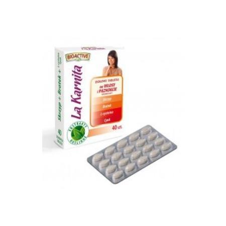 La Karnita, Ziołowe Tabletki na włosy i paznokcie marki Big-Active - zdjęcie nr 1 - Bangla