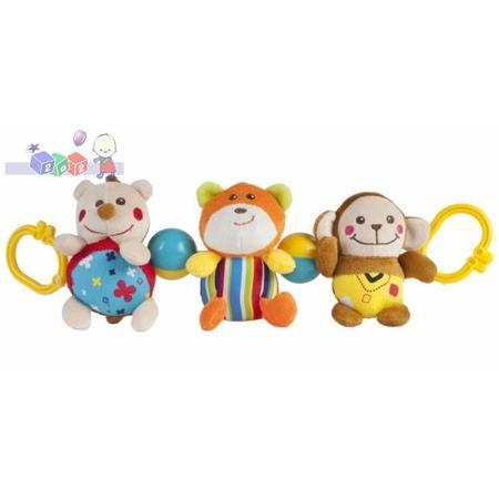 Zabawka pluszowa do wózka Jeż, miś i małpka, 9/904 marki Canpol babies - zdjęcie nr 1 - Bangla