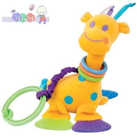 Pluszowa zabawka z grzechotką i gryzaczkami Żyrafka, 2/403 marki Canpol babies - zdjęcie nr 1 - Bangla
