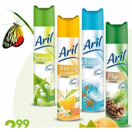 Aril odświeżacz powietrza - aerozol, różne zapachy marki Biedronka - zdjęcie nr 1 - Bangla