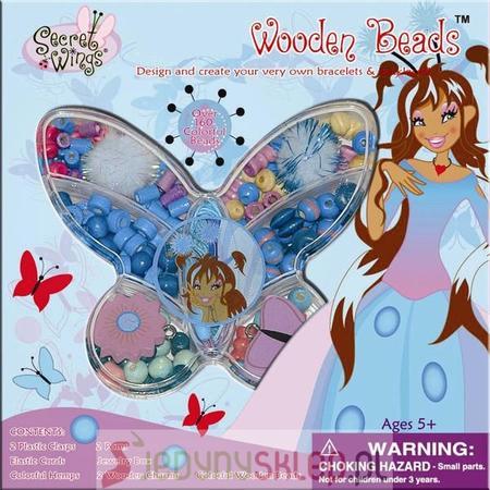 Wooden Beads, Koraliki Secret Wings 38952BSW marki Russell - zdjęcie nr 1 - Bangla