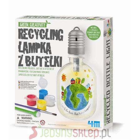 4M Recycling Lampka Z Butelki marki Russell - zdjęcie nr 1 - Bangla