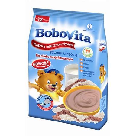Kaszka Mleczno-Ryżowa Pysznie Kakaowa marki BoboVita - zdjęcie nr 1 - Bangla