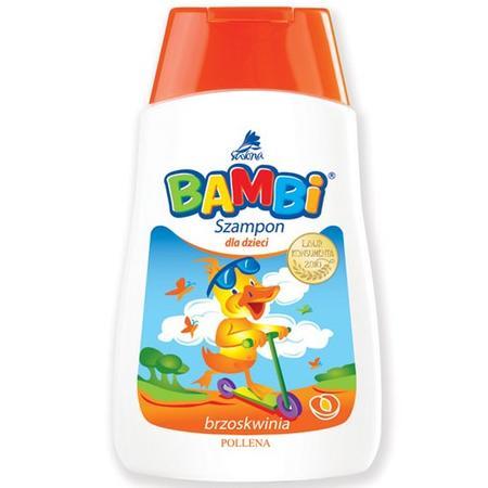 Bambi, szampon brzoskwiniowy marki Pollena Savona - zdjęcie nr 1 - Bangla