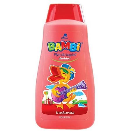 Bambi, Płyn do kąpieli Truskawka marki Pollena Savona - zdjęcie nr 1 - Bangla