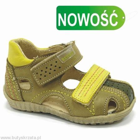 Sandałki chłopięce r. 20-26 marki REN-BUT - zdjęcie nr 1 - Bangla