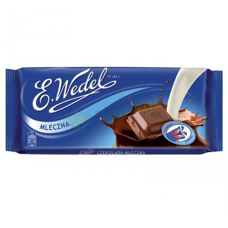 Mleczna czekolada marki Wedel - zdjęcie nr 1 - Bangla