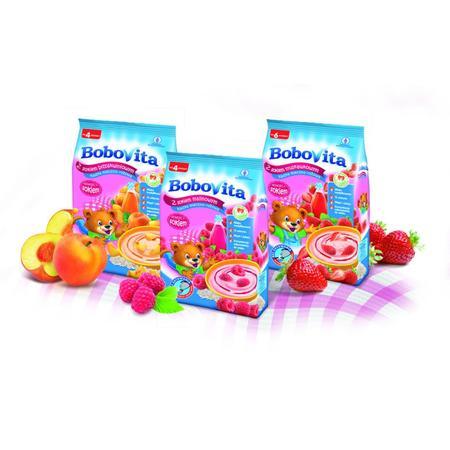 Kaszka z sokiem owocowym, różne smaki marki BoboVita - zdjęcie nr 1 - Bangla