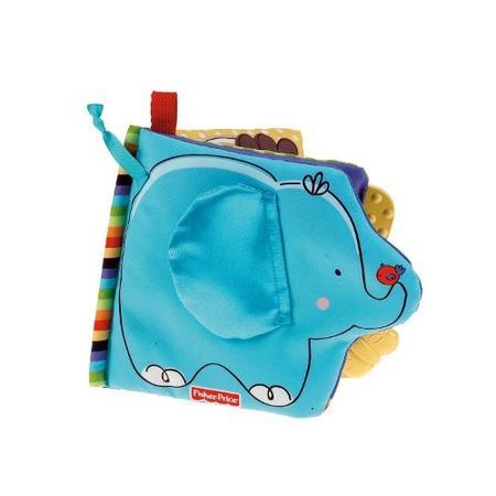 Miękka książeczka ze słoniem, T9239 marki Fisher-Price - zdjęcie nr 1 - Bangla