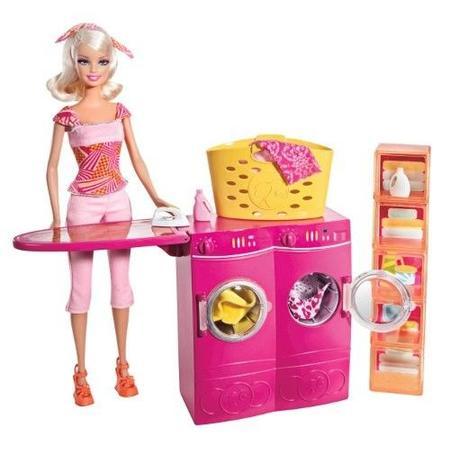 Barbie Pralnia, T8008 marki Mattel - zdjęcie nr 1 - Bangla