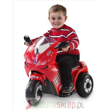 Motor Czerwony 99305-S marki Loko Toys - zdjęcie nr 1 - Bangla