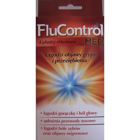 FluControl Med Plastry chłodzące (stara wersja) marki Aflofarm - zdjęcie nr 1 - Bangla
