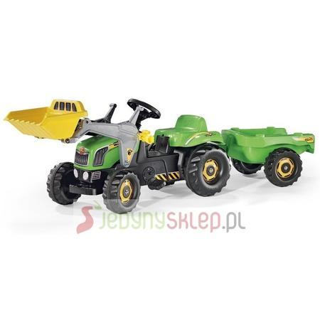 Traktor z Łyżką i Przyczepą, 23127, 23134 marki Rolly Toys - zdjęcie nr 1 - Bangla