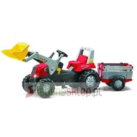 Traktor Junior z Łyżką i Przyczepką, 811397, 812189 marki Rolly Toys - zdjęcie nr 1 - Bangla
