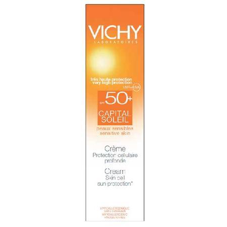 Capital Soleil Creme Visage Protection Cellulaire Profonde SPF50+, Ochronny krem do twarzy marki Vichy - zdjęcie nr 1 - Bangla