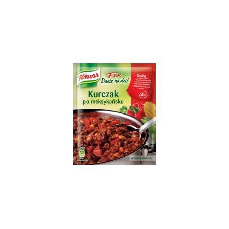 Fix, Kurczak po Meksykańsku marki Knorr - zdjęcie nr 1 - Bangla