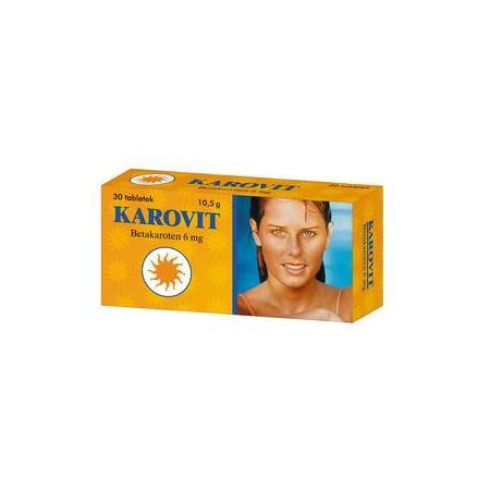 Karovit, betakaroten 6 mg marki Vitabalans - zdjęcie nr 1 - Bangla