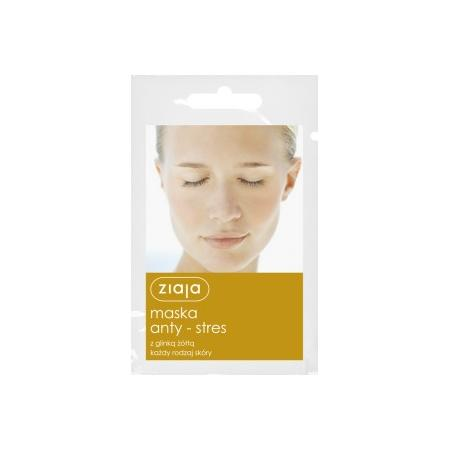 Maska Anty - Stres z glinką żółtą, każdy rodzaj cery marki Ziaja - zdjęcie nr 1 - Bangla