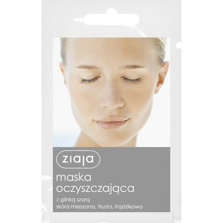 Maska Oczyszczająca z glinką szarą, skóra mieszana, tłusta, trądzikowa marki Ziaja - zdjęcie nr 1 - Bangla