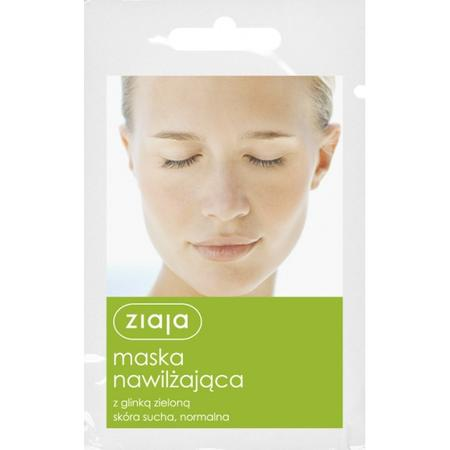 Maska Nawilżająca z glinką zieloną, skóra sucha, normalna marki Ziaja - zdjęcie nr 1 - Bangla